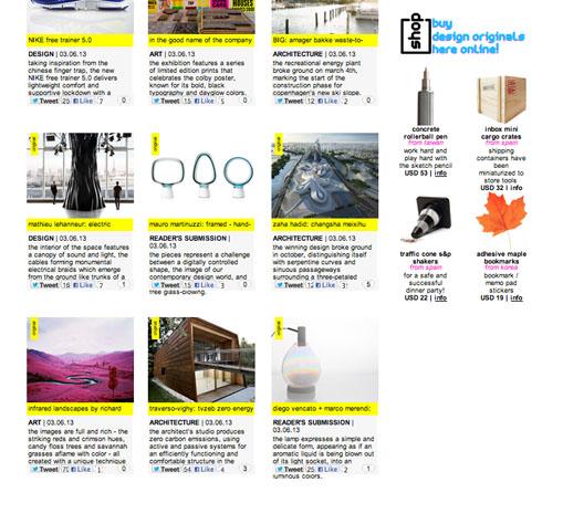 Design Boom - marzo 2013