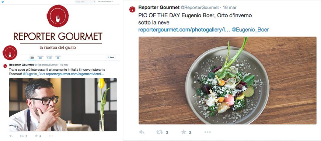 Reporter gourmet - marzo 2015